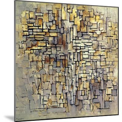 Mondrian: Composition, 1913-Piet Mondrian-Mounted Giclee Print