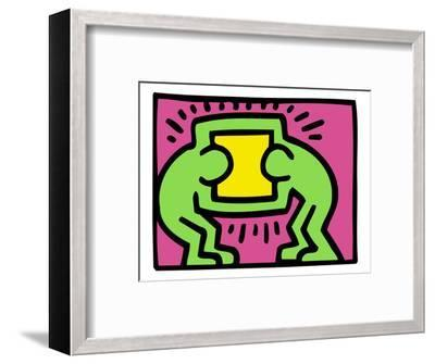 Pop Shop (TV)-Keith Haring-Framed Giclee Print