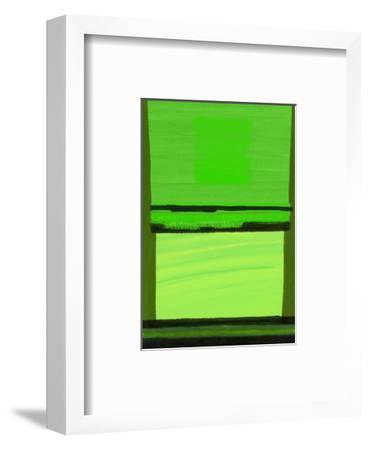 Kensington Gardens Series: Green on Green-Izabella Godlewska de Aranda-Framed Giclee Print