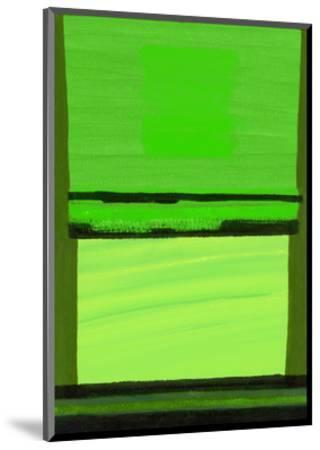Kensington Gardens Series: Green on Green-Izabella Godlewska de Aranda-Mounted Giclee Print