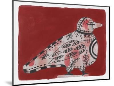 Mardi Gras Bird 19-Maria Pietri Lalor-Mounted Giclee Print