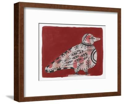 Mardi Gras Bird 19-Maria Pietri Lalor-Framed Giclee Print