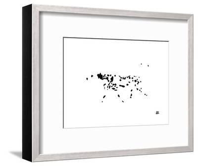 Dalmatian-Yoni Alter-Framed Giclee Print
