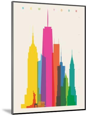 NYC-Yoni Alter-Mounted Giclee Print