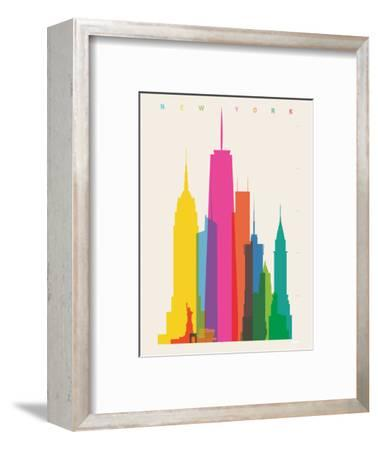 NYC-Yoni Alter-Framed Giclee Print