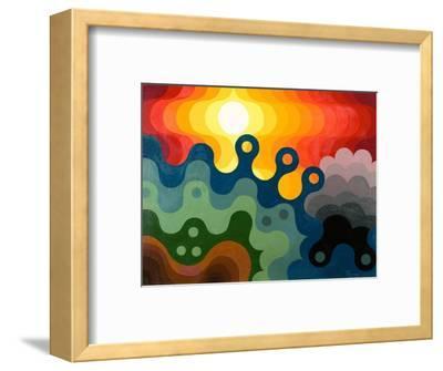 Sunset, 1985-Emil Parrag-Framed Giclee Print