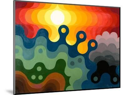 Sunset, 1985-Emil Parrag-Mounted Giclee Print