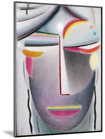 Head (Dark Buddha), c.1927-Alexej Von Jawlensky-Mounted Giclee Print