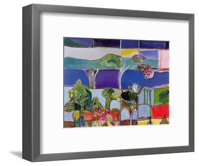Lake Annecy, 1994-Derek Balmer-Framed Giclee Print