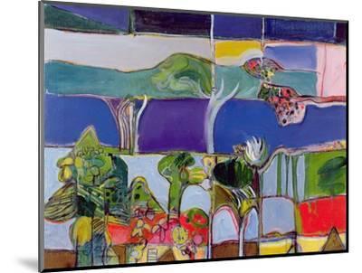 Lake Annecy, 1994-Derek Balmer-Mounted Giclee Print
