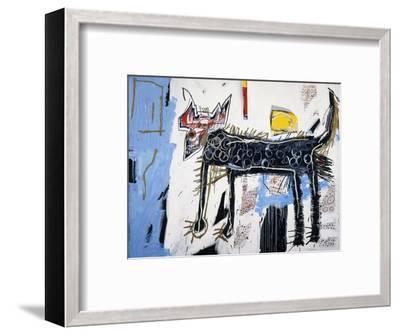 Part Wolf-Jean-Michel Basquiat-Framed Giclee Print