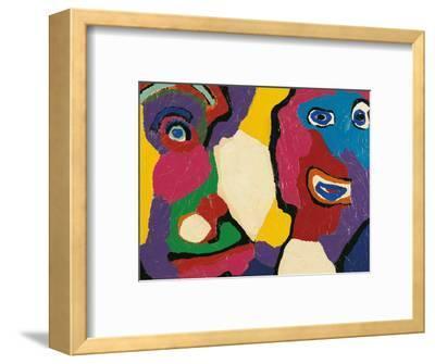 Untitled-Karel Appel-Framed Giclee Print