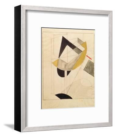 Proun 19, 1920-El Lissitzky-Framed Giclee Print