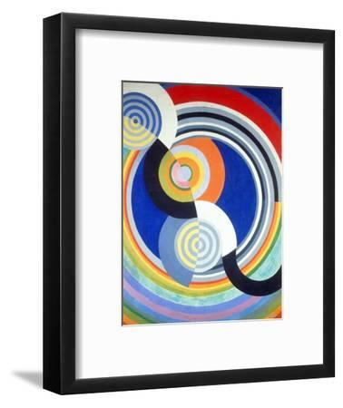 Rythme numéro 2-Robert Delaunay-Framed Giclee Print