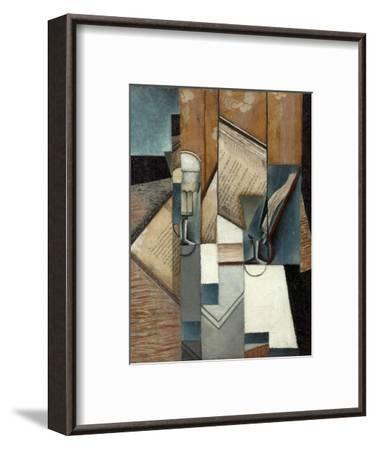 Le livre-Juan Gris-Framed Giclee Print