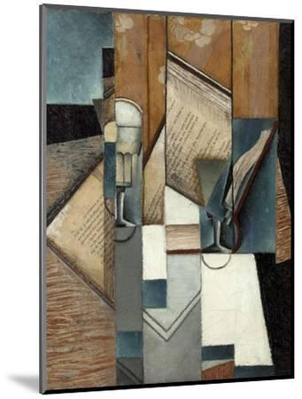 Le livre-Juan Gris-Mounted Giclee Print
