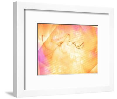 Abstract Image in Yellow and Red-Daniel Root-Framed Giclee Print