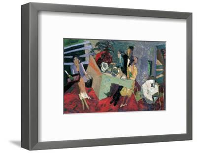 A Party at a Hotel-Zhang Yong Xu-Framed Giclee Print