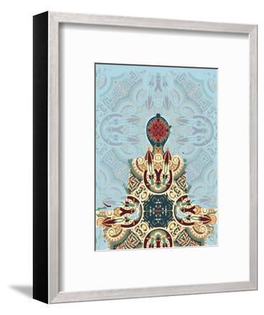 Meditating-Teofilo Olivieri-Framed Giclee Print