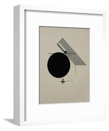 Proun-El Lissitzky-Framed Giclee Print