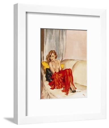 For Crying Out Loud-David Wright-Framed Giclee Print