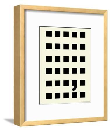 Full Stop-Philip Sheffield-Framed Giclee Print