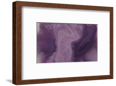 Nirvana: And, a Purple Flower Grows in the Brown Earth-Masaho Miyashima-Framed Giclee Print