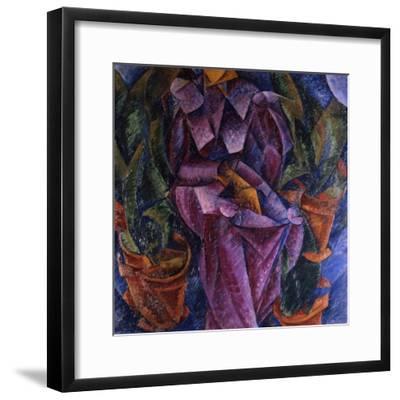 Composizione Spiralica, 1913-Umberto Boccioni-Framed Giclee Print