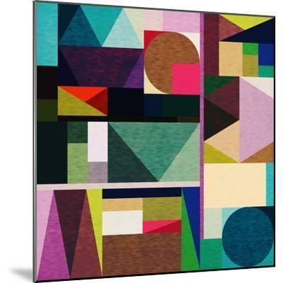 Colourful Day-Fimbis-Mounted Giclee Print