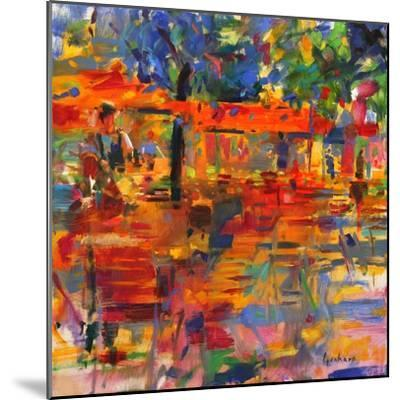 Falling Leaves, Paris-Peter Graham-Mounted Giclee Print