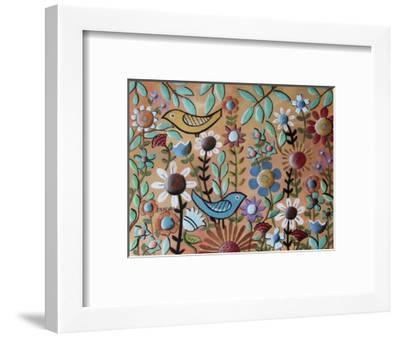 Birds and Flowers 1-Karla Gerard-Framed Giclee Print
