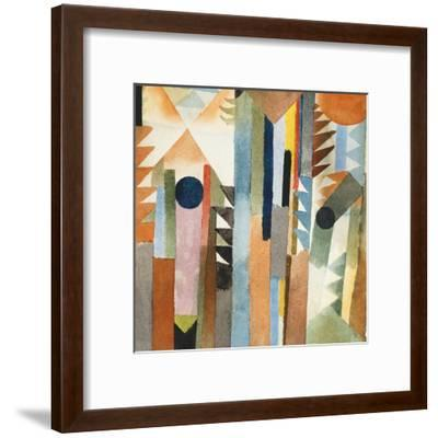 The Forest that Grew from the Seed-Paul Klee-Framed Giclee Print