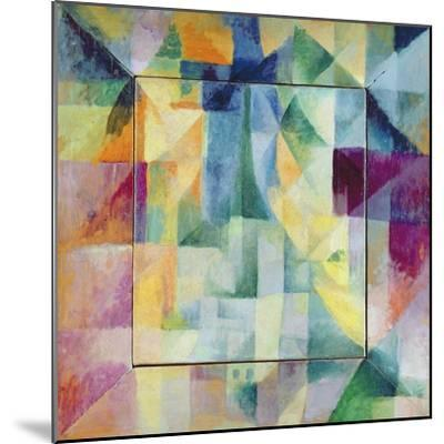 Simultaneous Windows on the City, 1912-Robert Delaunay-Mounted Giclee Print