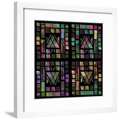 Quilt of Glass-Mindy Sommers-Framed Giclee Print