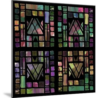 Quilt of Glass-Mindy Sommers-Mounted Giclee Print