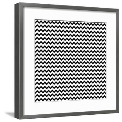 Mod Paisley Chevron-Jyotsna Warikoo-Framed Giclee Print