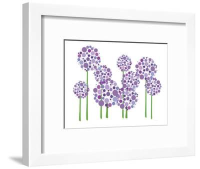 Purple Allium-Avalisa-Framed Premium Giclee Print
