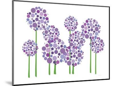 Purple Allium-Avalisa-Mounted Premium Giclee Print