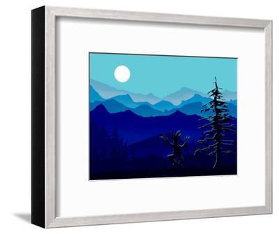 Moon Dancer Kicks Up His Heels-Rich LaPenna-Framed Giclee Print