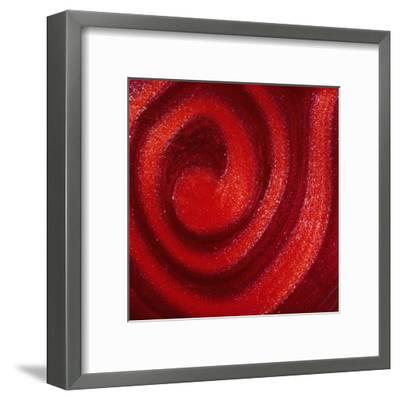 Swirls of nail polish-Jack Miskell-Framed Premium Photographic Print