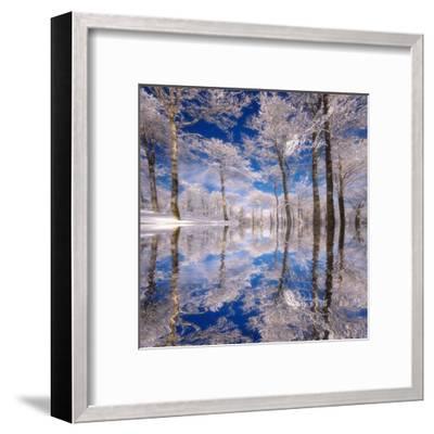Dream in Blue-Philippe Sainte-Laudy-Framed Premium Photographic Print