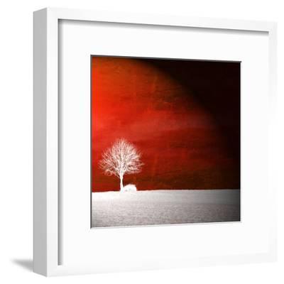 Sensation in Red-Philippe Sainte-Laudy-Framed Premium Photographic Print