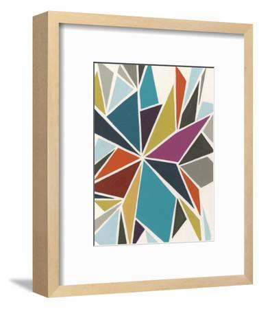 Pinwheel II-Erica J^ Vess-Framed Premium Giclee Print