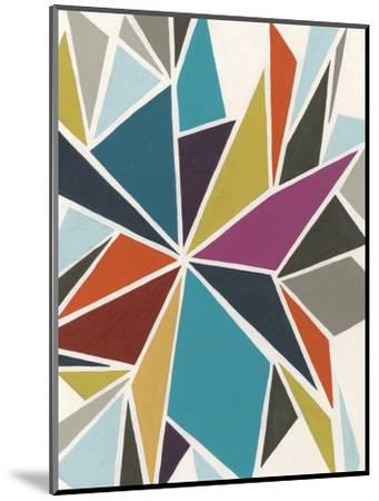 Pinwheel II-Erica J^ Vess-Mounted Premium Giclee Print
