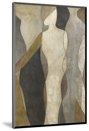 Figure Overlay I-Megan Meagher-Mounted Premium Giclee Print