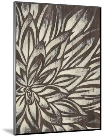 Barnwood Blossom II-June Vess-Mounted Premium Giclee Print