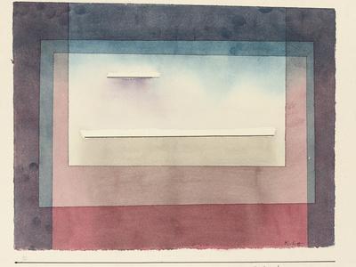 Dormant, 1930-Paul Klee-Framed Premium Giclee Print