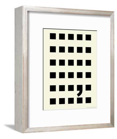 Full Stop-Philip Sheffield-Framed Premium Giclee Print