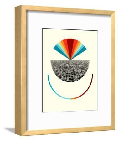 Smile-Mark Warren Jacques-Framed Premium Giclee Print