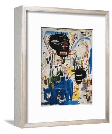 ISBN-Jean-Michel Basquiat-Framed Premium Giclee Print